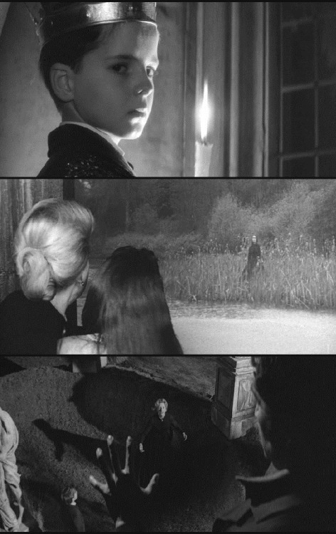 The  Innocents (1961, dir. Jack Clayton, screenplay by Truman  Capote, based on Henry James's The Turn of the Screw)