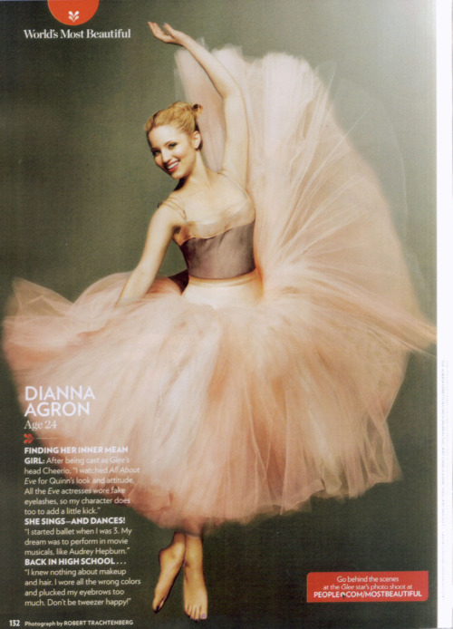 Dianna Agron in People (World's Most Beautiful)
