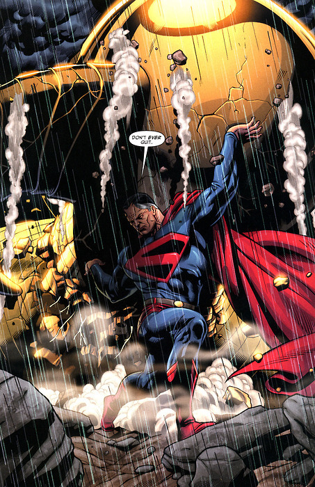 herofetish: fuckyeahsuperman: (via nonnegative) Kingdom Come Superman is awesome. That was an interesting choice to bring him into regular continuity.