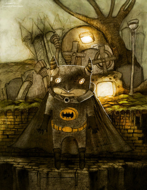 steampunk batman by berkozturk on DeviantArt