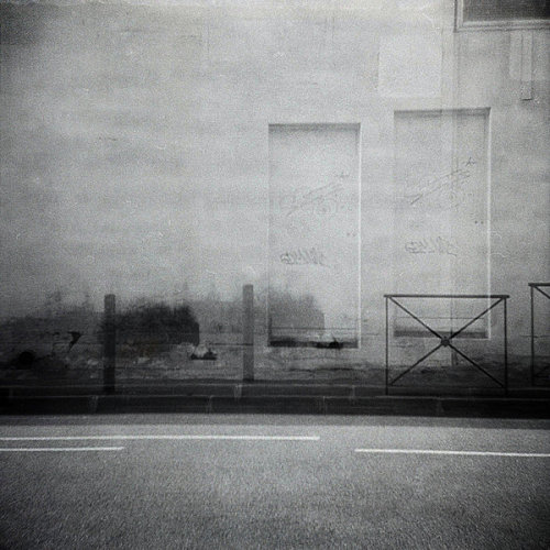 """No Way Out"" TRAVELLER TLR Toy cameraILFORD FP4 Plus 125Double exposureNegative scanned © Nathan Duarte"