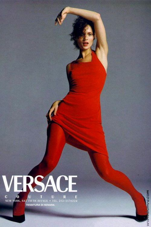 Richard Avedon for VERSACE