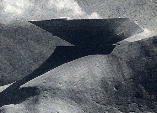 1955 Caracas Museum Concept designed by Oscar Niemeyer (via airform)