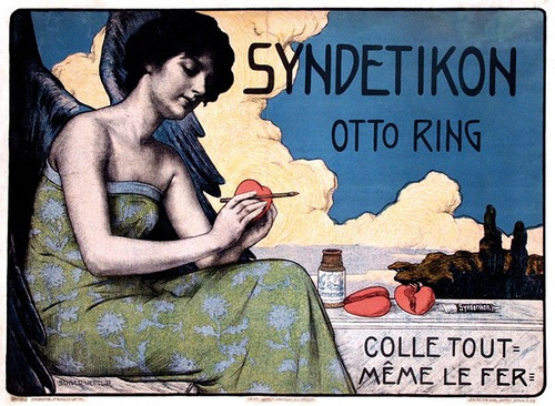 vintageillustration:  Syndetikon, Otto Ring (1898) (by Susanlenox)