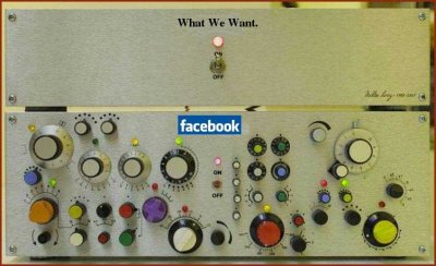 Facebook vs. What We Want.