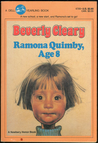 imremembering:  Ramona Quimby, Age 8 (via 0tterp0p)  I felt such a kinship to Ramona Quimby.  My favorite books growing up.  Although, it took me a long time to understand what dungarees were…