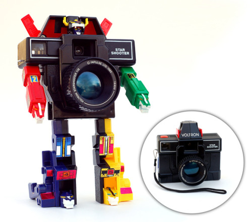Cameras || Robots || Voltron Star Shooter || Made in 1985!