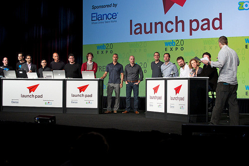 The stage at Launch Pad