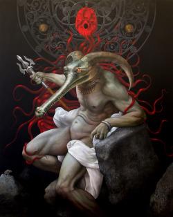 The Throne Of Lucifer, 2004Kris Kuksi