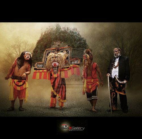 Reog Ponorogo Is one of many culture have in Indonesia The Amazing Indonesian Culture                            by ~genxgallery