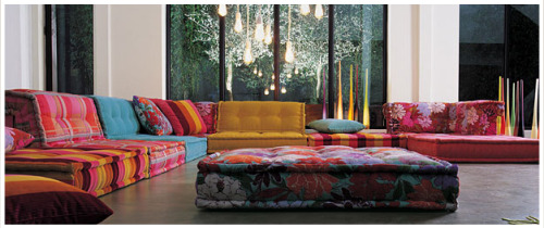 A confession. I think Missoni Home is awesome. What can I say? I love the colours.
