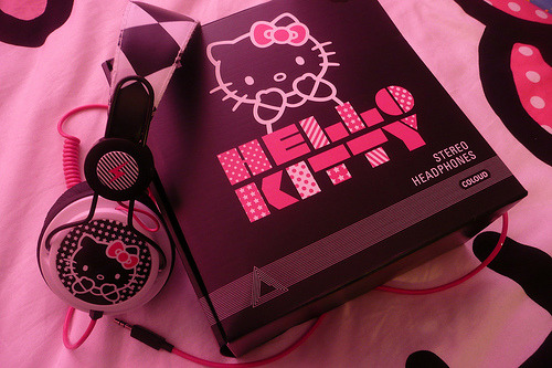 Coloud Hello Kitty Headphones