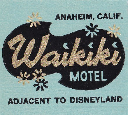 karenh:  Waikiki Motel matchbook cover (via michelledeluca via hmdavid on flickr)