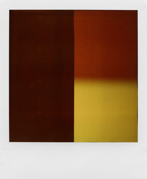 """Le Borgne"" Polaroid sx-70 SonarExpired 600 film + ND filter © Nathan Duarte"