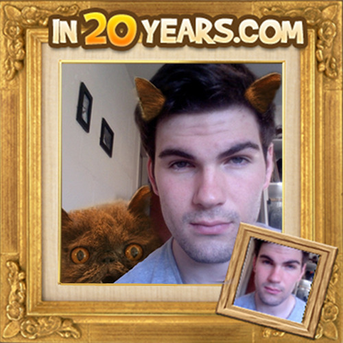 Your face in 20 Cat Years. RE: