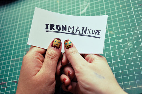IRON MANicure ~ open for bidnass
