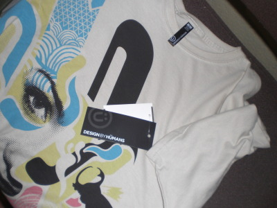 Yey I got my 1st Design by Humans shirt! yey! and i got it on sale at macy's haha :)