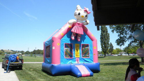 Hello Kitty Jump House!