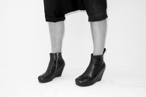 My new Rick Owens Wedge Boots… i love them!!!