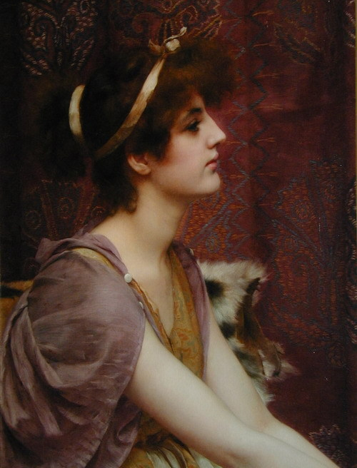 avanishedtime:  Classical Beauty by John William Godward