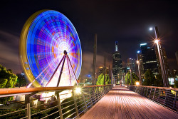 Pedestrian bridge at Birrarung Marr, Melbourne ♥ Visit Yury Prokopenko on Flickr »»»