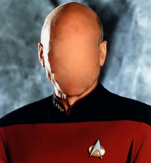 photo reply with Picard's new face or tag with #picardface