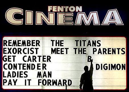 fenton cinema at least we tried