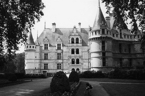 Chateau Azay-le-Rideau, Loire Valley, France