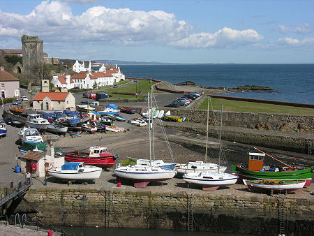 The pretty Scottish town of Dysart where Harboured is set and where it will be shot in the coming weeks!