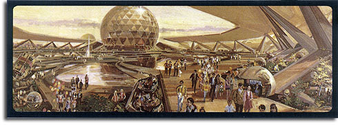 EPCOT Center | Progress City, U.S.A.