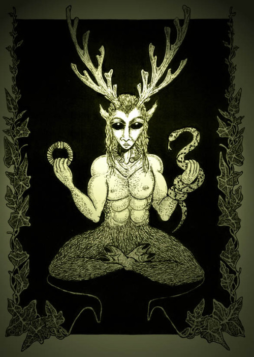 The Puckish Pagan - The Horned God is one of the two primary ...
