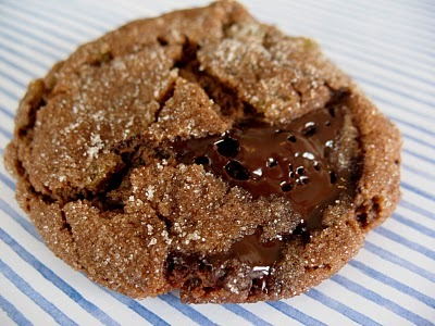 Chocolate and Brandied Raisin Cookies