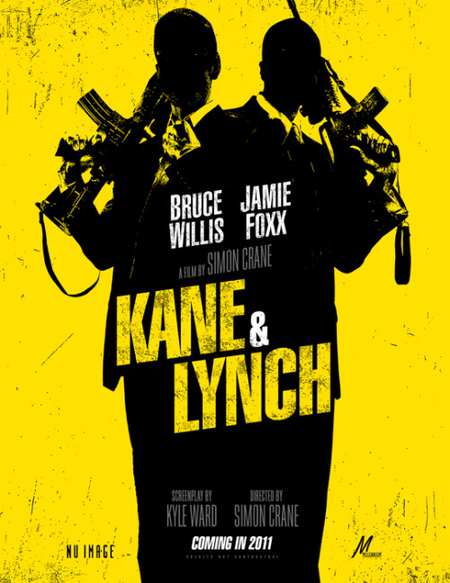 Kane & Lynch Promo Poster | Latino Review Let me remind you this is based on a video game.