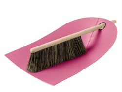 Dustpan and broom by Ole Jensen for Normann Copenhagen.