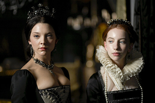 boleyns:  Holy shit. HBICs Anne Boleyn and Elizabeth I. Together. On the season finale. BRB, DYING.