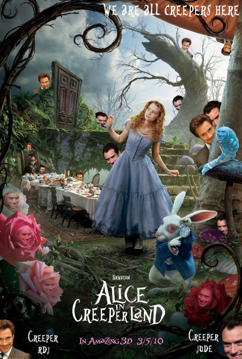 sirwatson:  Alice in Creeperland…