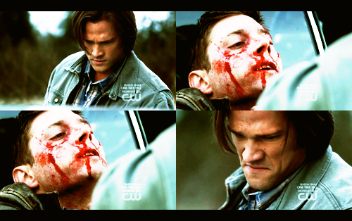 "jeric-kripke:  heyassbutt:  ""Sammy, it's ok. It's ok, I'm here. I'm here. I'm not gonna leave you. I'm not gonna leave you."""