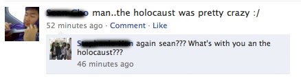 idiotsonfacebook:  Hitler was, like, so bad!   Best Blog :'D