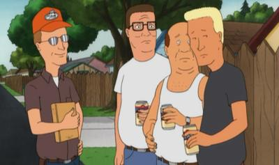 Dale shames Boomhauer by revealing that he has been stealing the coupons from Hank's Sunday newspaper.