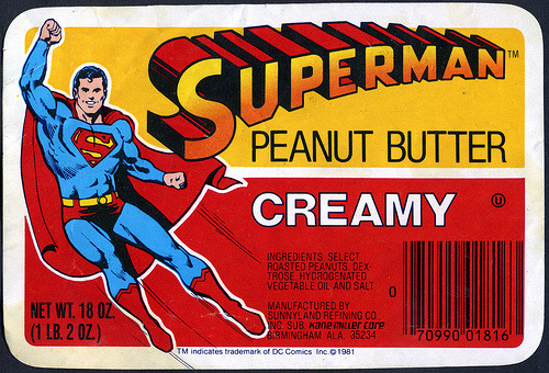 Superman Peanut Butter Photo courtesy of Jason Liebig