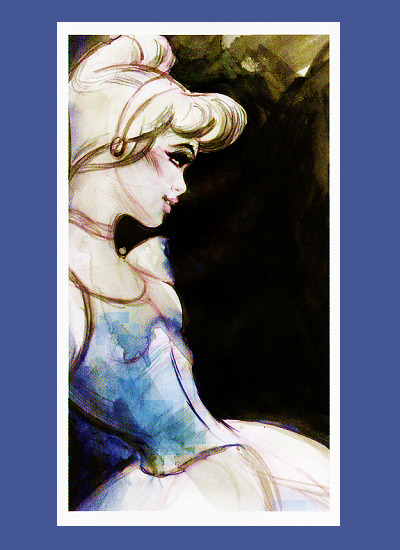 I love this drawing of Cinderella. (via thedisneyprincess)