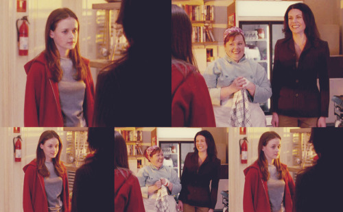 Rory: You're happy.Lorelai: Yeah.Rory: Did you do something slutty?Lorelai: I'm not that happy.  (Pilot, 1x01)