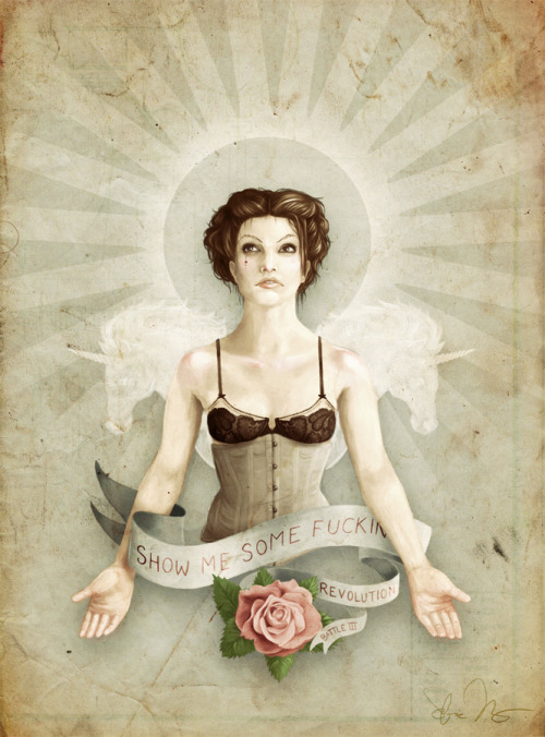 Amanda Palmer in Battle III: Revolution by *SirLemoncurd on deviantART