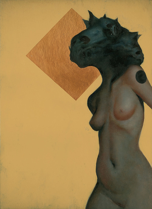 Morning III by Joao Ruas, oil on mounted canvas,  2010