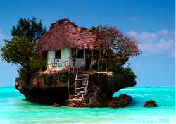 fuckyeahprettyplaces:  The Rock Restaurant, east coast Zanzibar