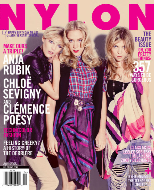 I wrote a feature on Paris for Nylon's August 2010 issue. I've also written about beauty, movies, and more for Nylon Australia (which has since closed). For more clips, please see my online music reviews: *Nylon's first article on MGMT *Cut Copy *Mum *These United States *Care Bears on Fire *Luke Temple *The Black Ghosts