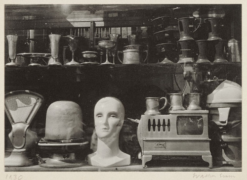 Walker Evans Secondhand Shop Window 1930