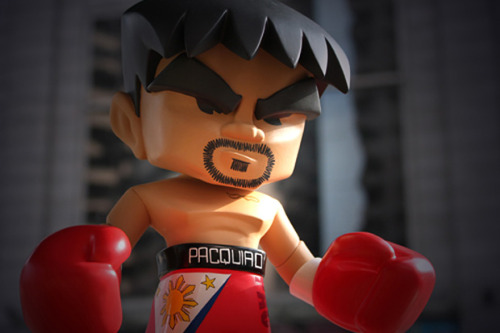 "romansang-marino:  pinoytumblr:  iamkevin:  MINDstyle ""Manny Pacquiao"" P.O.P. Collection Vinyl Figure    i want!!!"