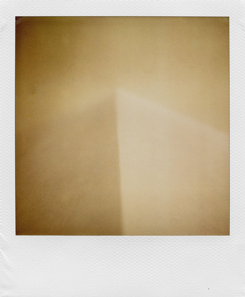 """La Dune"" Polaroid sx-70 SonarExpired 600 film + ND filter © Nathan Duarte"