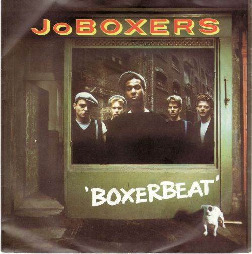 JoBOXERS - Boxerbeat RCA, 1983 (flicking through my singles)